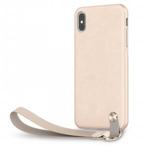Moshi Altra Slim Hardshell Case With Strap for iPhone Xs Max (Savanna Beige)