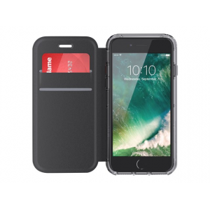 Griffin Survivor Clear Wallet for iPhone 7 (Black/Clear)