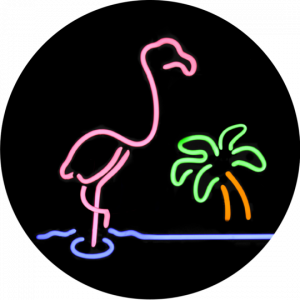 Nuckees Original Generic Grips (Neon Flamingo)