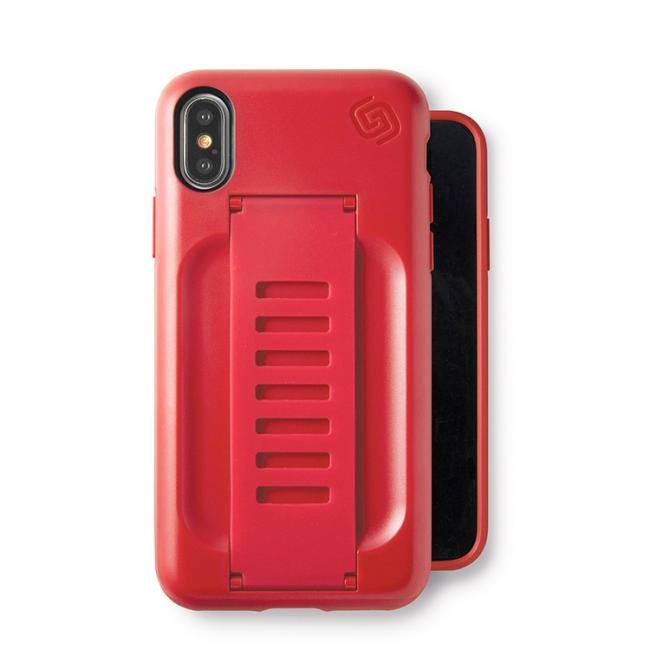 Grip2ü BOOST for iPhone X (Ruby)