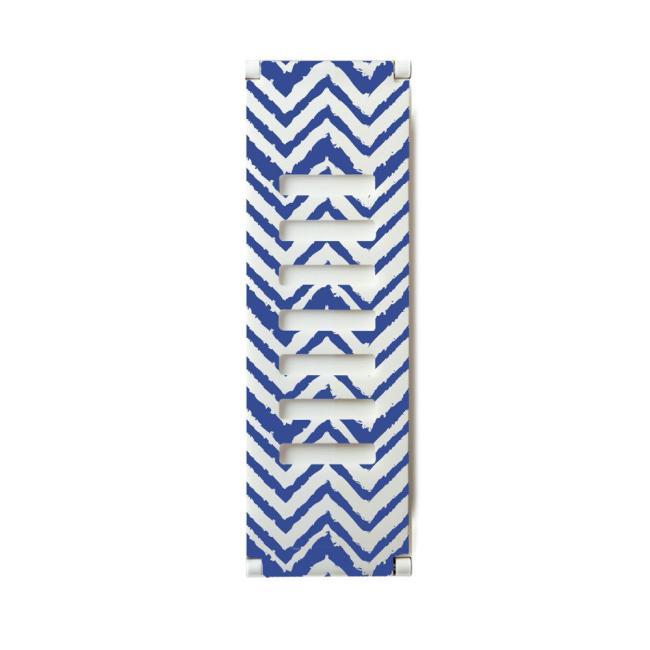 Grip2ü Replacement Thin Clip Medium Band (Blue Chevron)