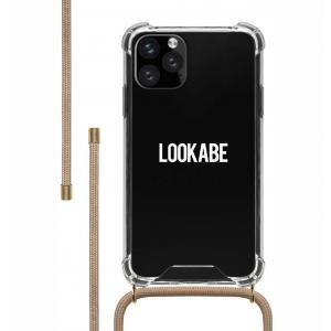 LOOKABE Necklace Case for iPhone 11 Pro Max (Nude)