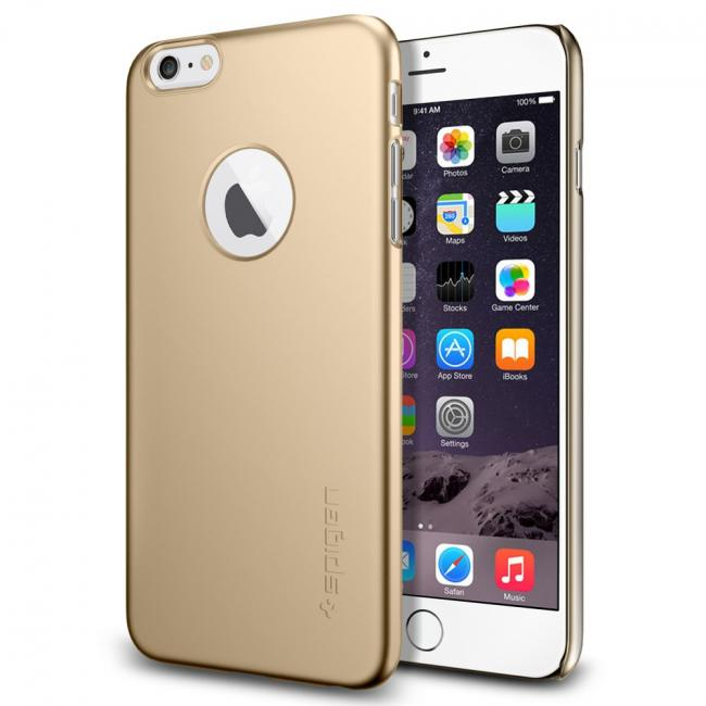 Spigen Thin Fit Case for iPhone 6/6s Plus (Shimmery White)