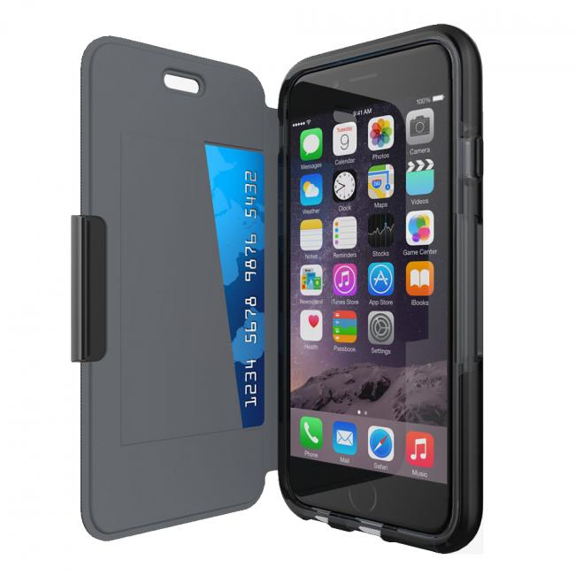 Tech21 Evo Wallet for iPhone 6/6s (Black)