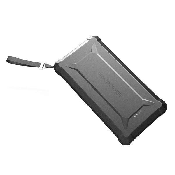 RAVPower Rugged Power Bank PD QC3.0 Waterproof 20100mAh (Black)