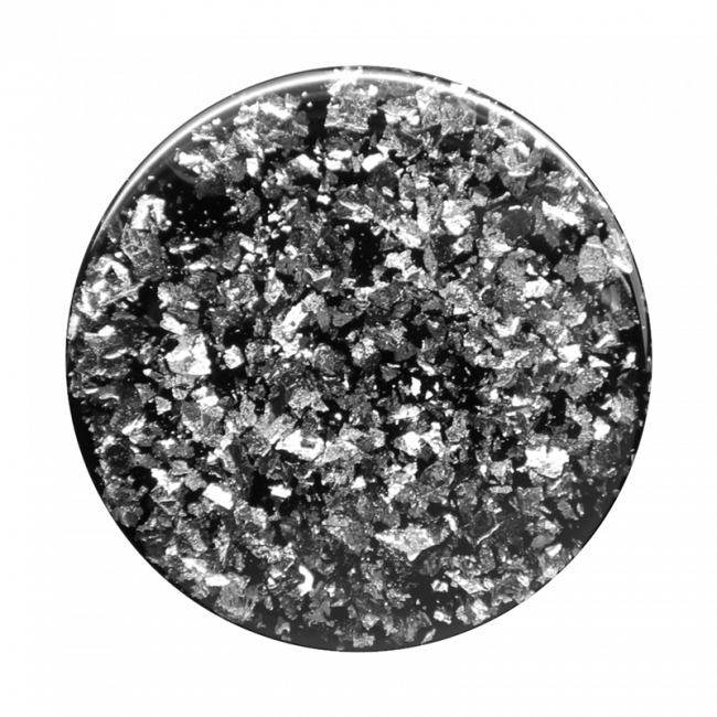 Popsockets Swappable Foil Confetti (Silver)