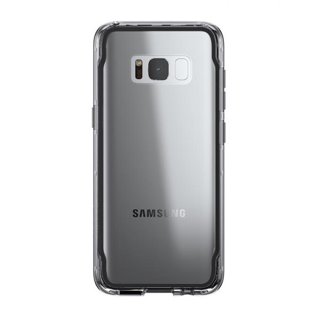 Griffin Survivor for Galaxy S8 (Smoke/Clear)
