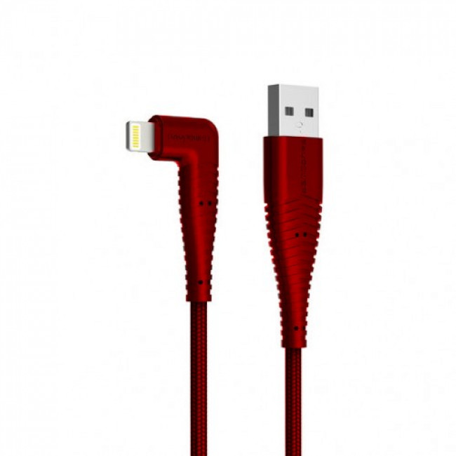 RAVPOWER Braided Lightning Cable 0.9m (Red)