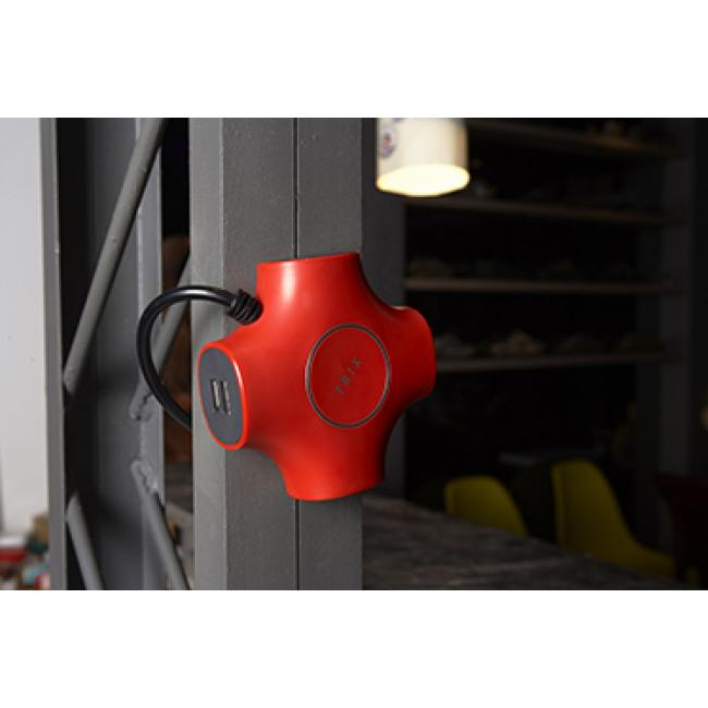 TRIX Universal 5V/4.2A UK Plug (Red)
