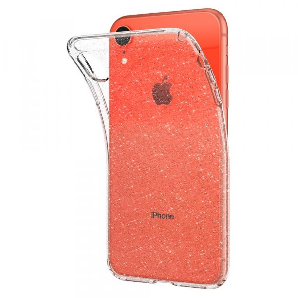Spigen Liquid Crystal Glitter Case for iPhone XR Crystal Quartz