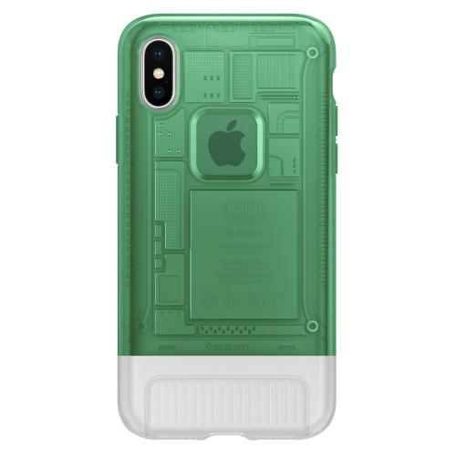 Spigen Classic C1 Case for iPhone X (Sage)