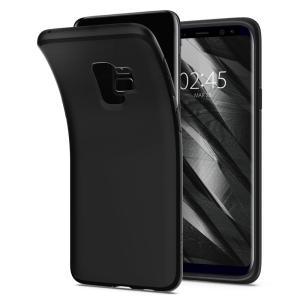 Spigen Galaxy S9 Case (Liquid Crystal Matte Black)