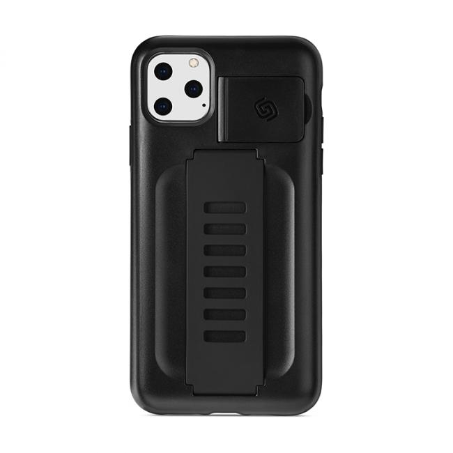 Grip2ü BOOST with Kickstand iPhone 11 Pro Max (Charcoal)