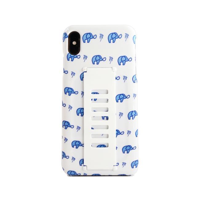 Grip2ü SLIM for iPhone Xs Max (Elephants)