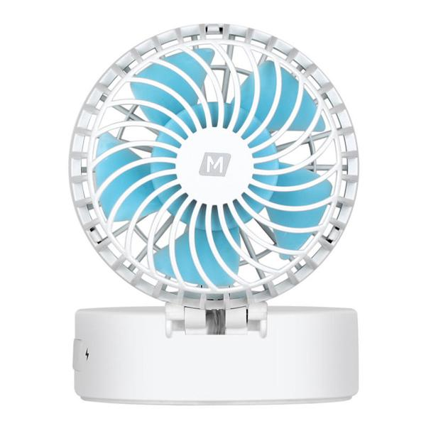 Momax iFan 2 Portable Fan with Mirror White