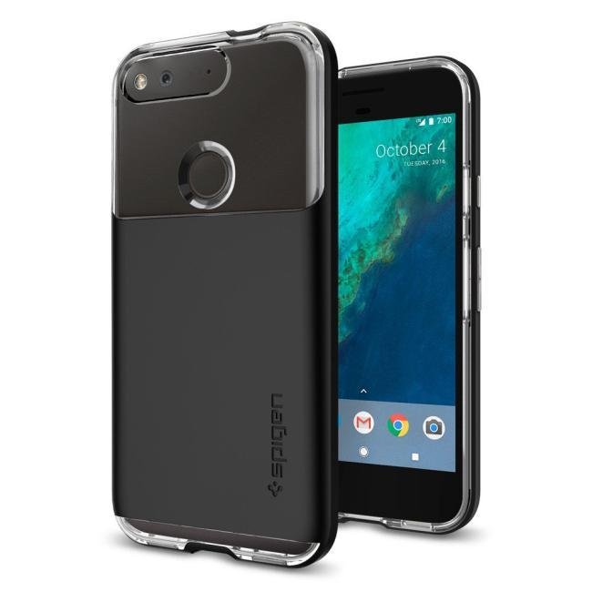 Spigen Google Pixel Case Neo Hybrid Crystal Black