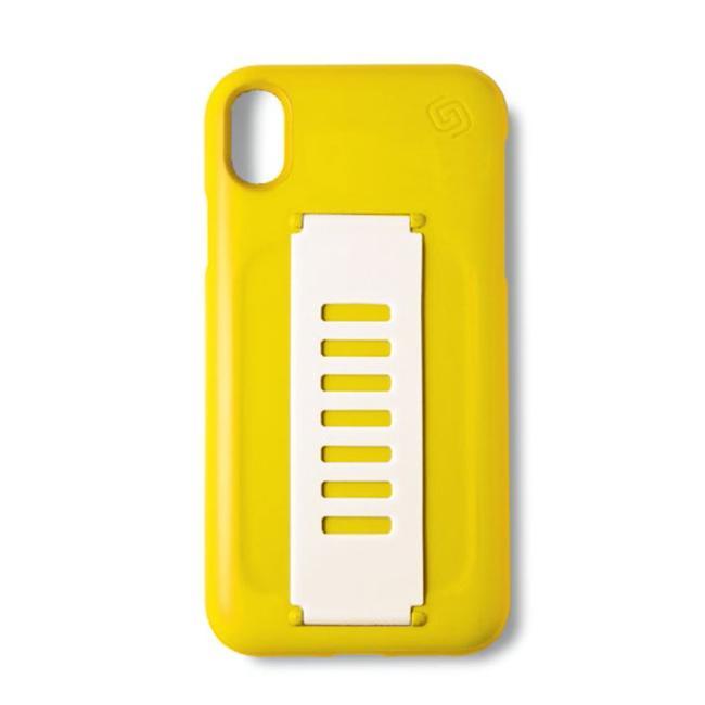 Grip2u Slim Case for iPhone Xs Max (Yellow)