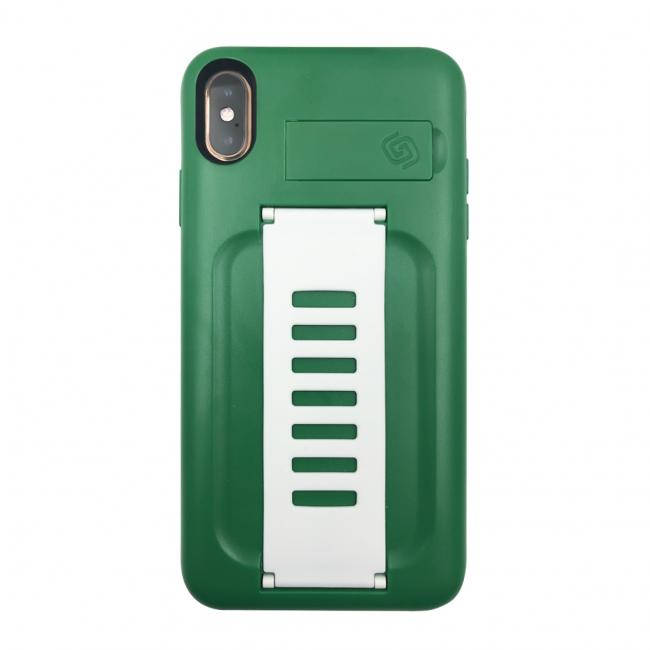 Grip2ü BOOST with Kickstand Case for Apple iPhone Xs Max (Kelly Green)