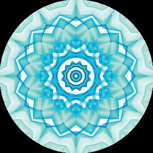 Nuckees Original Generic Grips (Aqua Medallion)