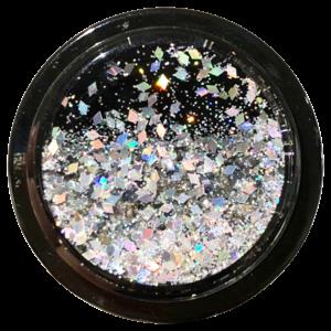 Nuckees Midnight Diamond Liquid Glitter (Black)