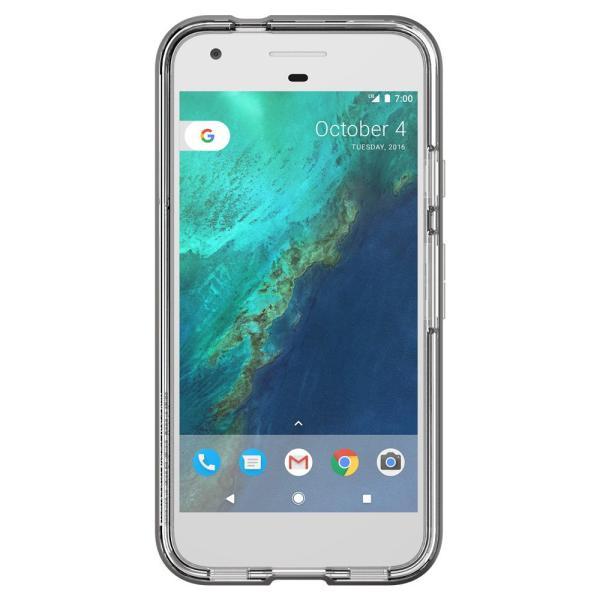 Spigen Google Pixel Case Neo Hybrid Crystal Gunmetal