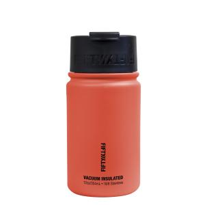Fifty Fifty Vacuum Insulated Bottle 354ML Coral