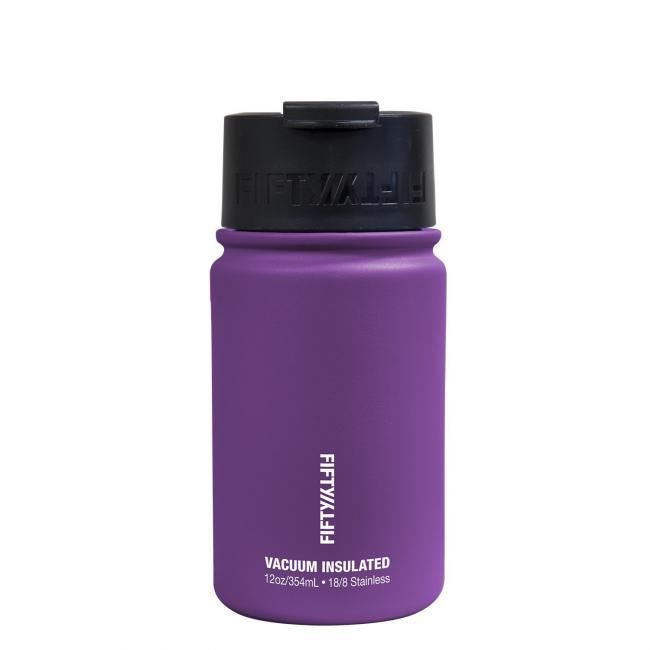 Fifty Fifty Vacuum Insulated Bottle 354ML Royal Purple