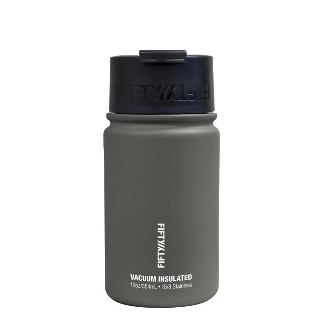 Fifty Fifty Vacuum Insulated Bottle 354ML Slate Grey
