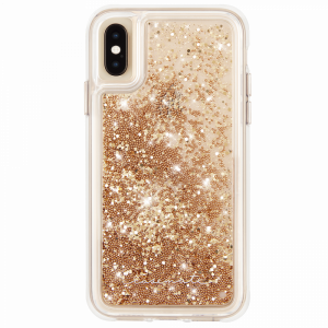 Case-Mate Waterfall Case for Apple iPhone Xs Max (Gold)