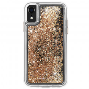 Case-Mate Waterfall for Apple iPhone XR (Gold)