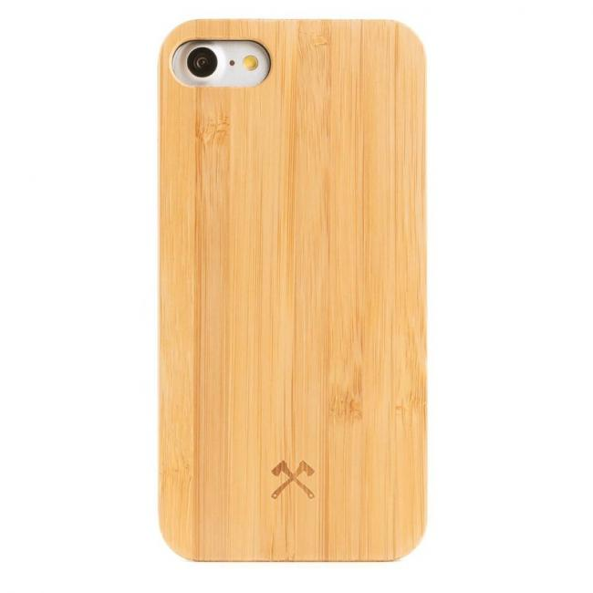 EcoCase Wooden for Apple iPhone 7 (Bamboo Black)
