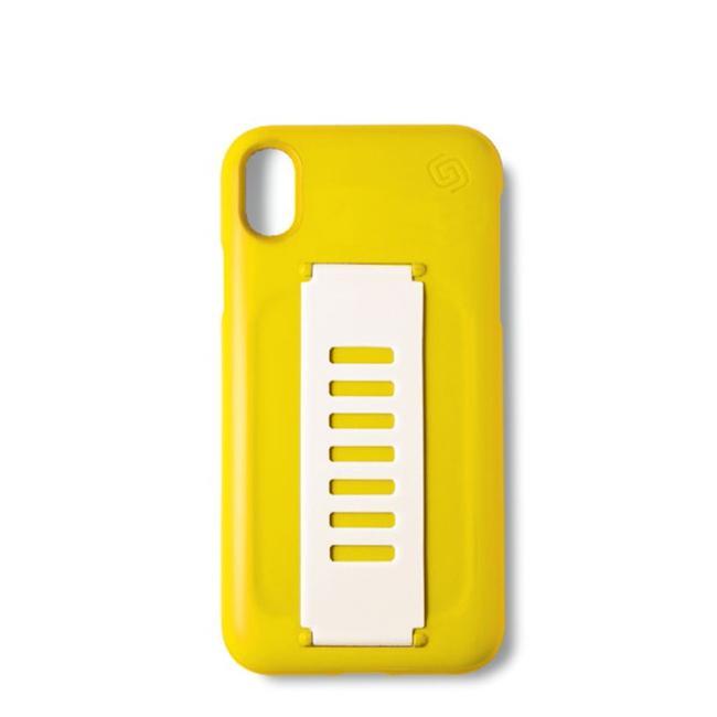 Grip2u Slim Case for iPhone Xs (Yellow)