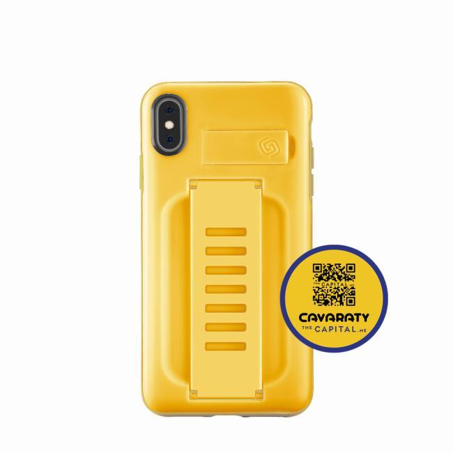 Grip2ü BOOST with Kickstand iPhone Xs (Mango)