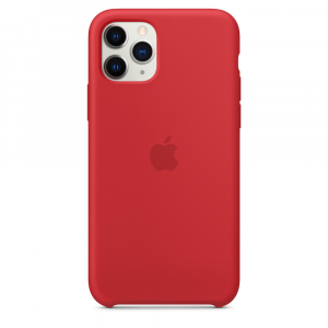 Apple Silicone for iPhone 11 Pro (Red)
