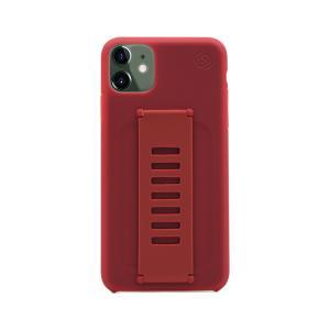 Grip2u Slim Case for iPhone 11 (Maroon)