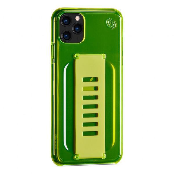 Grip2u Slim Case for iPhone 11 Pro (Neon Yellow)
