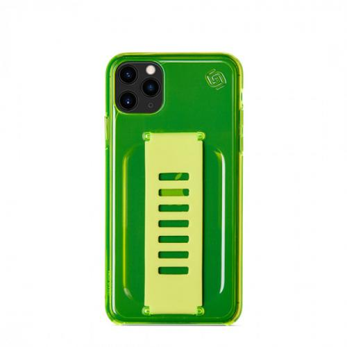 Grip2u Slim Case for iPhone 11 Pro (Neon Yellow)