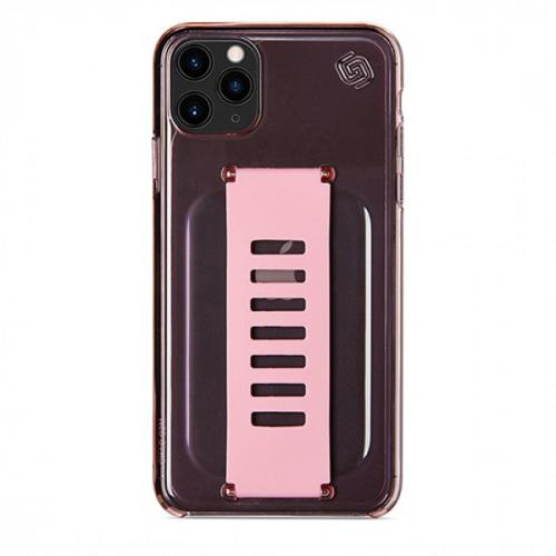 Grip2u Slim Case for iPhone 11 Pro Max (Neon Pink)