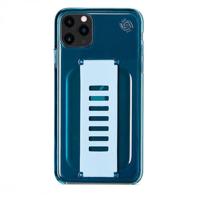 Grip2u Slim Case for iPhone 11 Pro Max (Neon Blue)