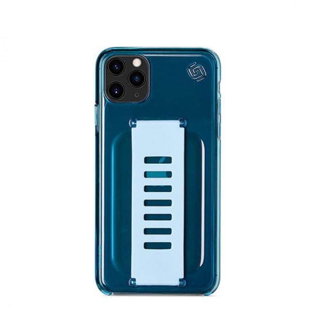 Grip2u Slim Case for iPhone 11 Pro ( Neon Blue)