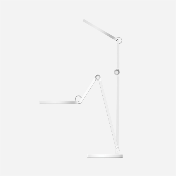 MOMAX Smart Desk Lamp With Wireless Charging Base (Silver)