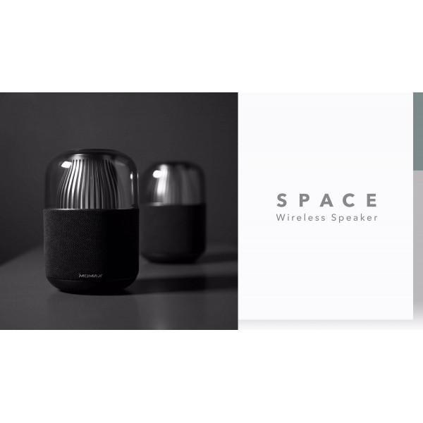 SPACE True wireless 360 speaker with colored ambient lamp Black