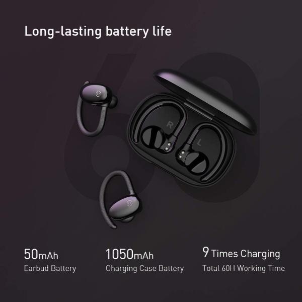 PILLS Sport True wireless Bluetooth earbuds Black
