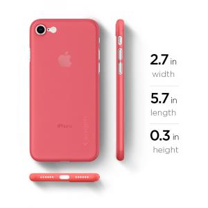 Spigen iPhone 7 Case Air Skin (Red)