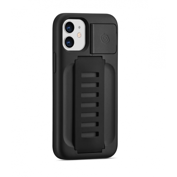 """Grip2u Boost Case with Kickstand for iPhone 2020 5.4"""" (Charcoal)"""