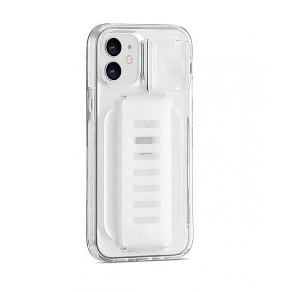 """Grip2u Boost Case with Kickstand for iPhone 2020 5.4"""" (Clear)"""