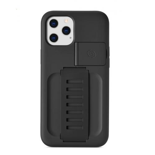 "Grip2u Boost Case with Kickstand for iPhone 2020 6.7"" (Charcoal)"