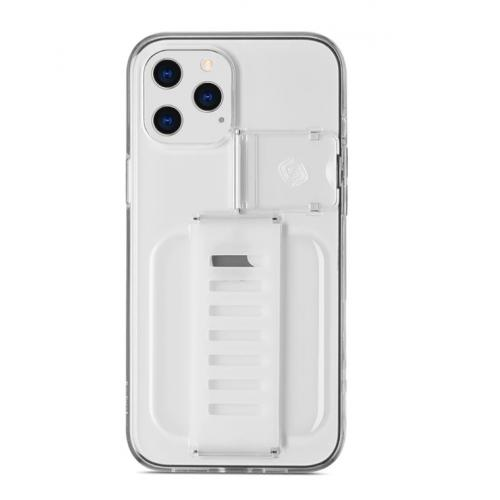 "Grip2u Boost Case with Kickstand for iPhone 2020 6.7"" (Clear)"