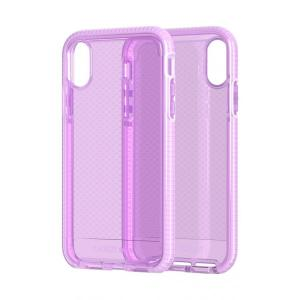 Tech21 Evo Check Case for iPhone Xr (Orchid)