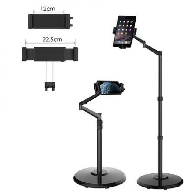 Smatree Mobile And Tablet Floor Stand -Black